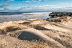 Dode duinen Stock Afbeeldingen