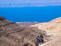 Dode overzees - Machaerus, Jordanië Royalty-vrije Stock Foto's