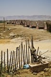 Dode overzeese hutten Stock Afbeelding