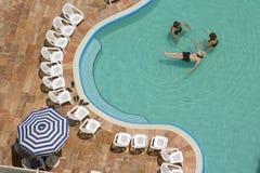 Dode overzeese pool Royalty-vrije Stock Afbeeldingen