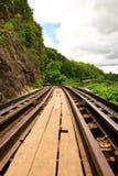Dode spoorweg Stock Afbeelding