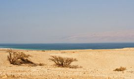 Dode zee, Israel; Dead Sea, Israel royalty free stock photo