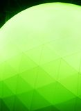 Dodecahedron ball background Stock Photography
