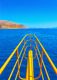 At Dodecanese islands in Greece Stock Image