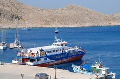 Dodekanisos Express, Halki Stock Photos