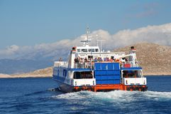 Dodekanisos Express, Halki Royalty Free Stock Photography