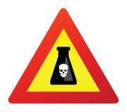 Dodelijk vergiftteken Stock Foto's