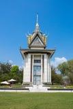 Dodend Gebieds Nationaal Monument, Phnom Penh kambodja Royalty-vrije Stock Afbeelding