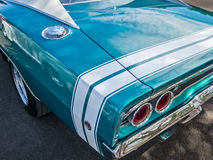 1968 Dodge ładowarka obraz royalty free