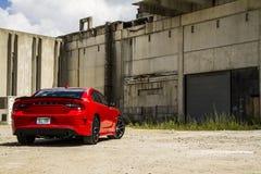 2015-2016 Dodge ładowarki R/T Scat paczka zdjęcie royalty free