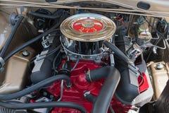 Dodge ładowarki 273 silnik na pokazie Zdjęcie Royalty Free