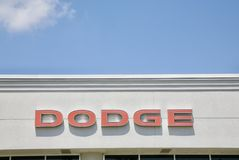 Dodge Automobile Logo Royalty Free Stock Photography