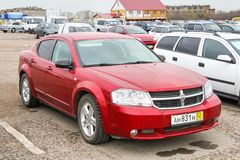 Dodge Avenger stock image