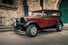 Dodge-broers uitstekende het reizen auto Royalty-vrije Stock Afbeelding