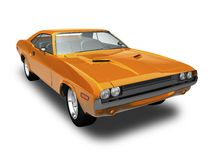 Dodge Challenger 2 Royalty Free Stock Image