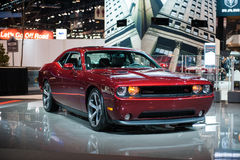 Dodge Challenger at the Chicago Auto Show Stock Photos