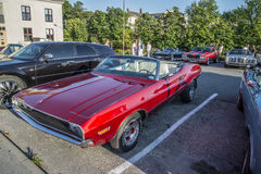 1970 Dodge Challenger Convertible Stock Photography