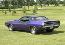 Dodge challenger convertible royalty free stock photo