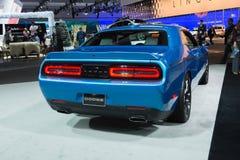 Dodge Challenger 2015 on dlisplay Royalty Free Stock Photography