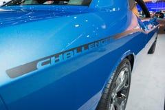 Dodge Challenger 2015 on dlisplay Stock Photo