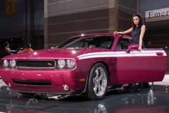 Dodge Challenger model 2010 Royalty Free Stock Image