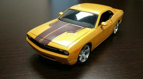 Dodge Challenger model Royalty Free Stock Images