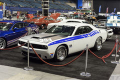 Dodge challenger race car Stock Photography