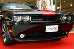 Dodge Challenger Rallye Redline in Motor Show 2014. RAYONG, THAILAND - FEBRUARY 13-18:Dodge Challenger Rallye Redline car on display at Laemtong Shopping Plaza Stock Photography