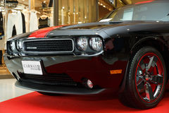 Dodge Challenger Rallye Redline in Motor Show 2014 Stock Photography