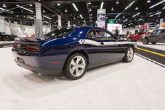 Dodge Challenger RT on display. Royalty Free Stock Image