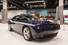 Dodge Challenger RT on display. Stock Image