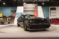 Dodge Challenger SRT on display. Royalty Free Stock Photo