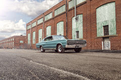 1966 Dodge Charger Royalty Free Stock Photo