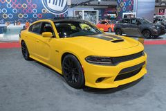 Dodge Charger Daytona 392 on display during LA Auto Show Royalty Free Stock Image
