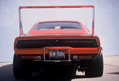 Dodge Charger Daytona Hemi 426 royalty free stock photo