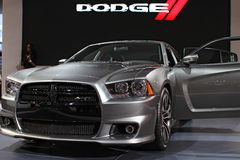 Dodge Charger model 2011 Royalty Free Stock Photography