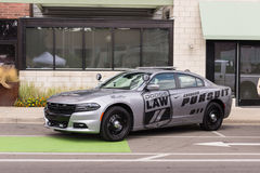 Dodge Charger police car, Emergency Vehicle Show, Woodward Dream Cruise, MI Stock Photography