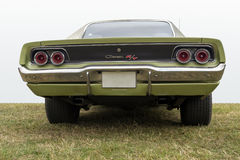 Dodge Charger R/T  - Back view Royalty Free Stock Photography