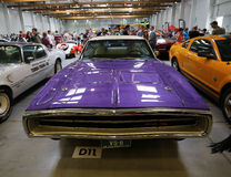 Dodge Charger R-T. Displayed at 3rd edition of MOTO SHOW in Cracow Poland. Exhibitors present  most interesting aspects of the automotive industry Stock Photo