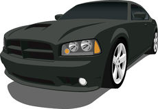 Dodge Charger Sedan Stock Image