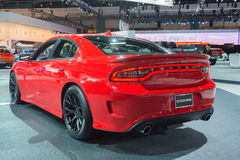 Dodge Charger SRT Hellcat on display Stock Photography