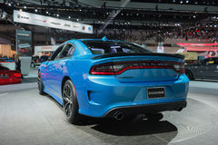 Dodge Charger SRT Hellcat on display Royalty Free Stock Photo