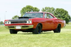 Dodge coronet. Picture of the dodge coronet super bee with 440-6pack engine royalty free stock image