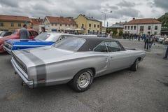 1969 Dodge Coronet droite Images libres de droits