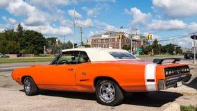 1970 Dodge Coronet R/T, crociera di sogno di Woodward, MI Immagine Stock