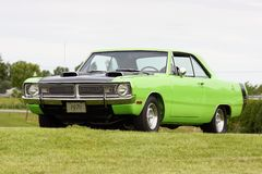 Dodge dart. Picture of the 1970 dodge dart swinger royalty free stock photos