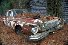 1962 Dodge Dart 440 four door abandon Stock Images