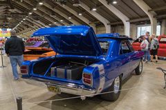 Dodge Dart Hemi 1969 on display. Pomona, USA - April 8, 2017: Dodge Dart Hemi 1969 on display during the Street Machine and Muscle Car at the Fairplex Exposition Stock Images