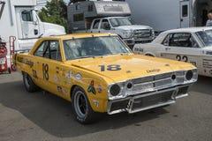 Dodge dart race car Stock Image