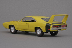 Dodge Daytona 1969. 1969 Dodge Daytona, Road Champs 1:43 scale diecast automotive miniature replica Stock Images